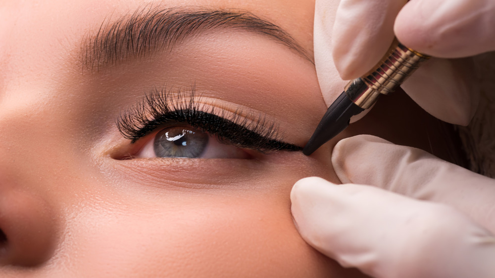The new eyeliner tattoo trend