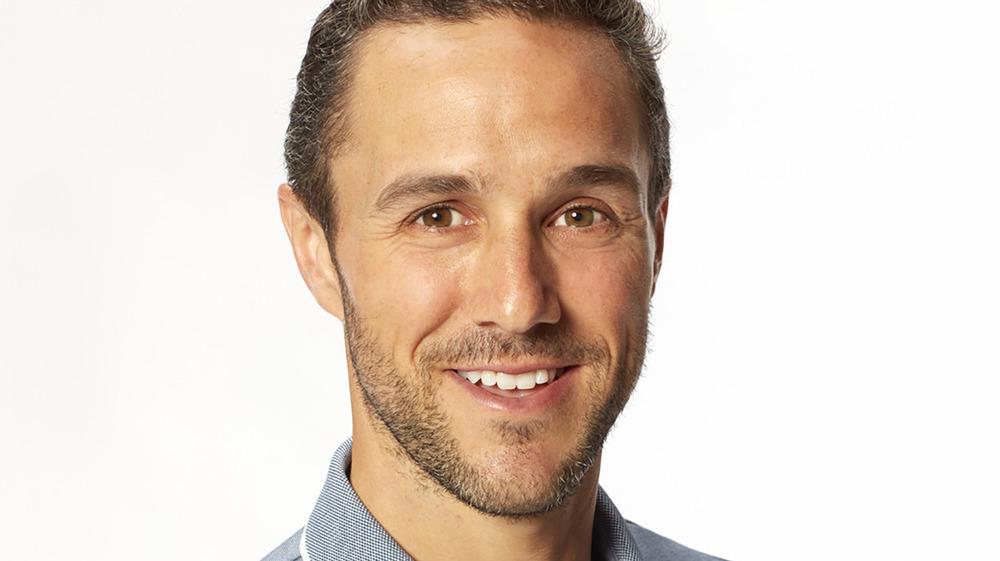Bachelorette contestant Zac Clark smiling