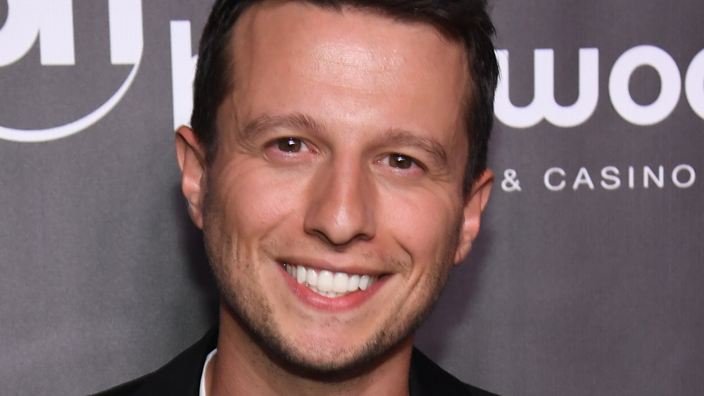 Mat Franco on the Planet Hollywood red carpet
