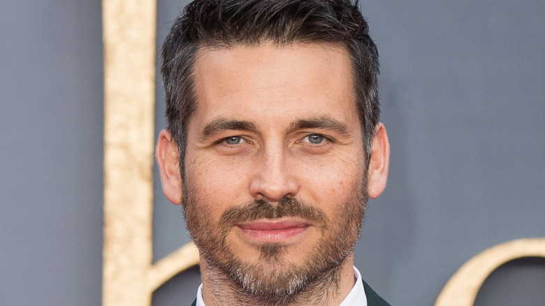 Rob James-Collier on the red carpet