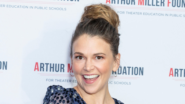 Sutton Foster smiling broadly