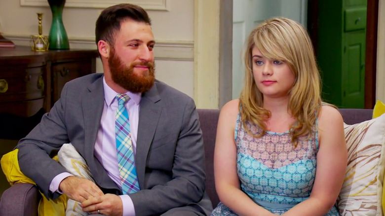 man and woman in therapy Married at First Sight