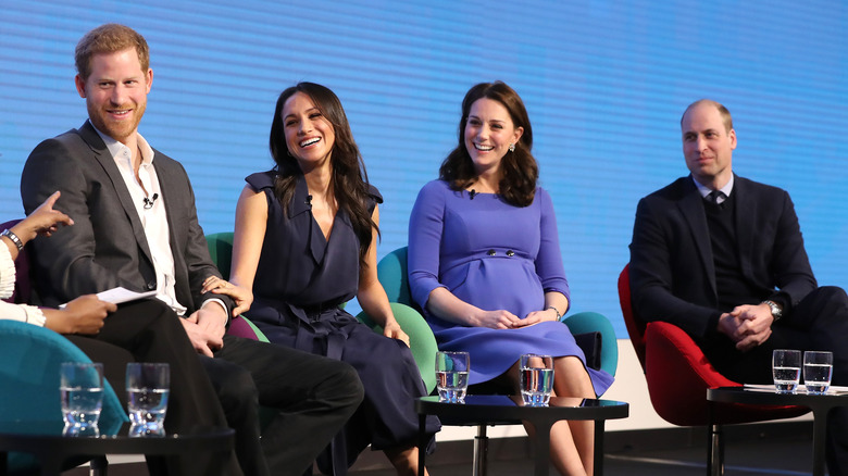 Prince Harry, Meghan Markle, Kate Middeton, Prince William