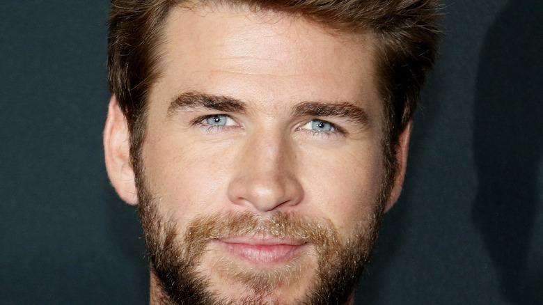 Liam Hemsworth close up