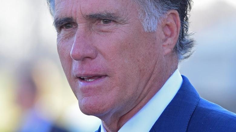Mitt Romney close up