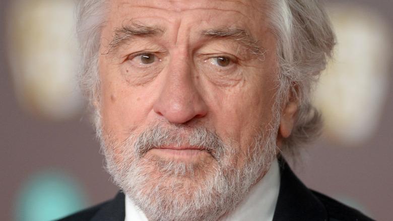 Robert De Niro posing