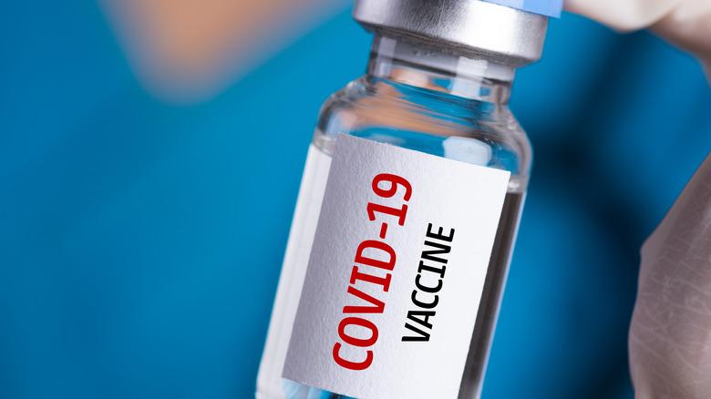COVID vaccine vial