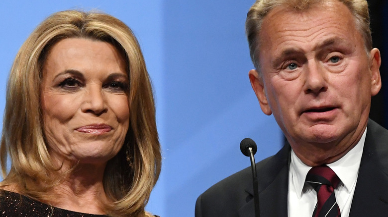 Pat Sajack and Vanna White of Wheel of Fortune