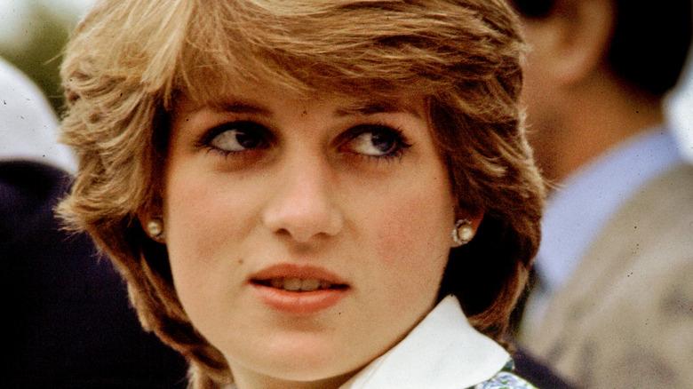 Princess Diana outdoors