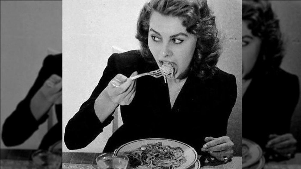 Sophia Loren pasta