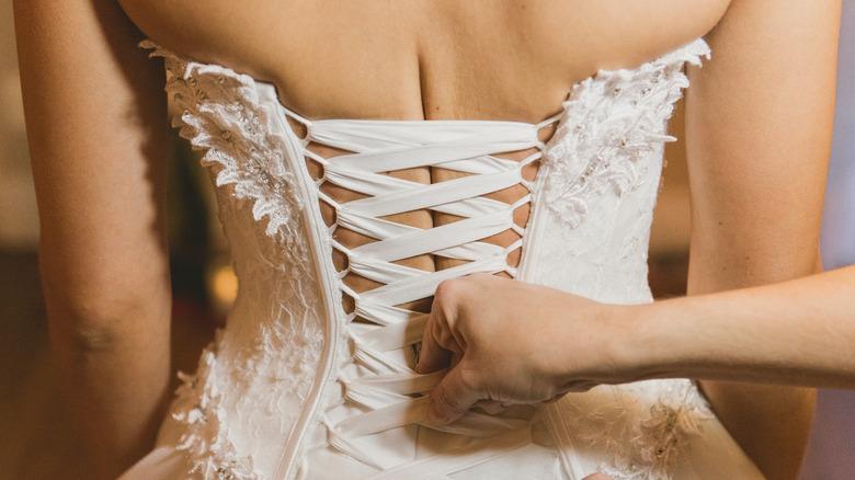 corset on body