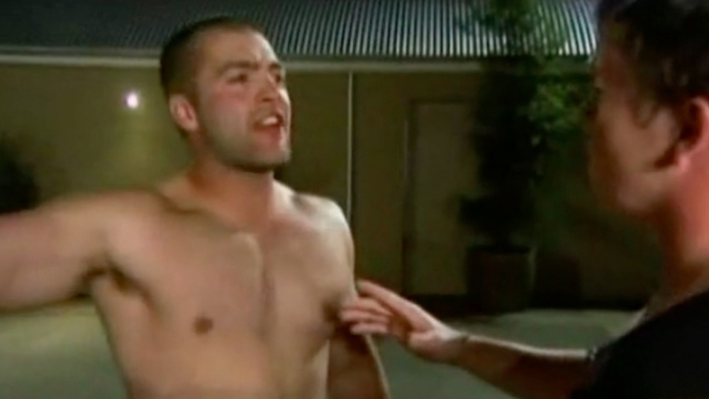 C.T. from The Challenge getting angry