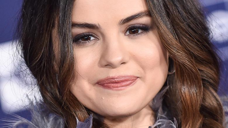 Selena Gomez smiling red carpet