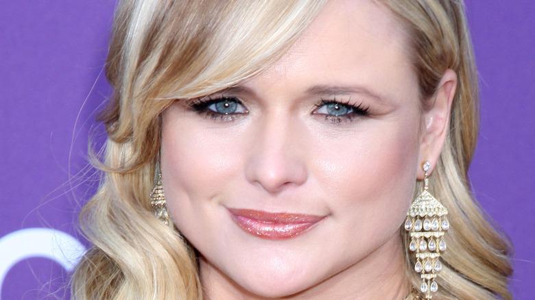 Miranda Lambert smiling at the Country Music Awards