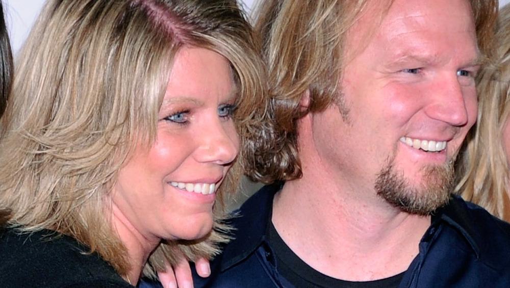 Meri and Kody Brown smiling