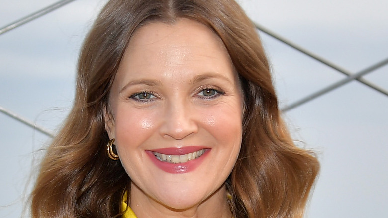 Drew Barrymore smiling wide