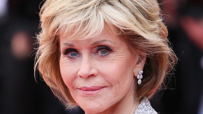 Jane Fonda smiling
