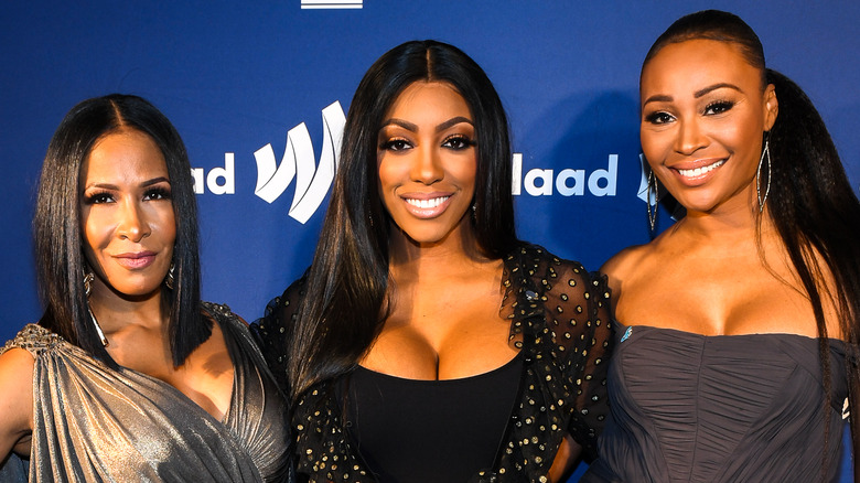 Real Housewives Of Atlanta cast members on red carpet