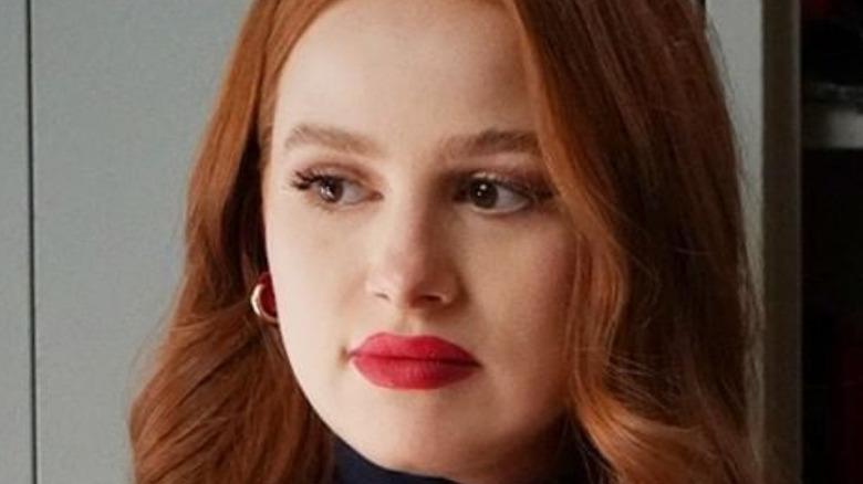 Madelaine Petsch as Cheryl Blossom on Riverdale