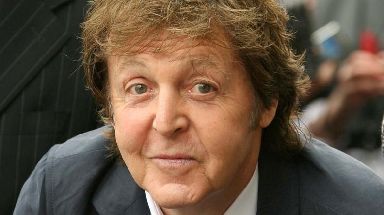 Paul McCartney at event