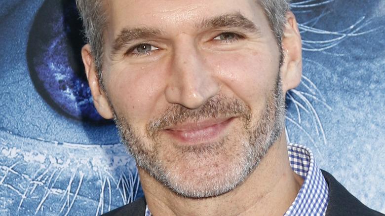 David Benioff smirking