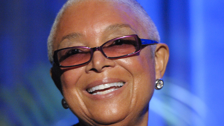 Camille Cosby smiling