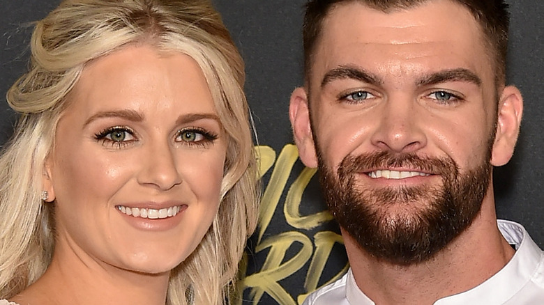 Dylan Scott and Blair Robinson smiling