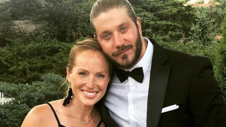 Mina Starsiak and her husband Steve Hawk
