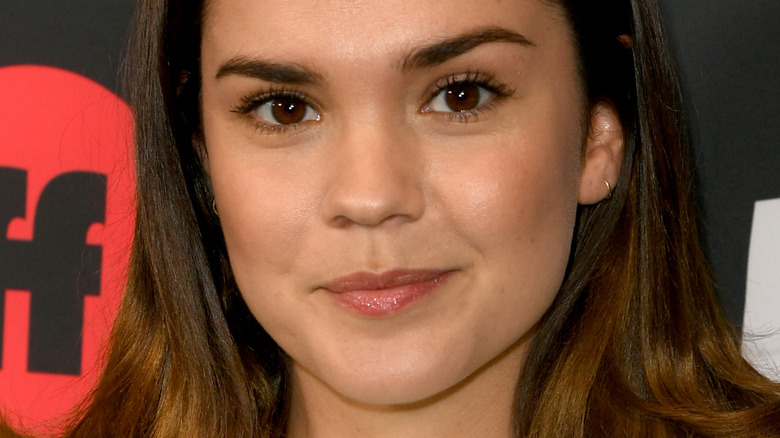 Maia Mitchell at event