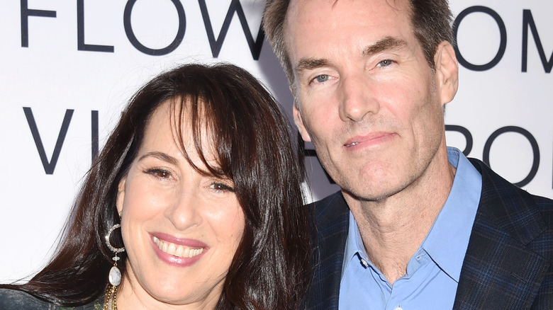 Maggie Wheeler with husband Daniel Borden Wheeler