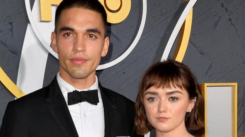 Maisie Williams and boyfriend Reuben Selby