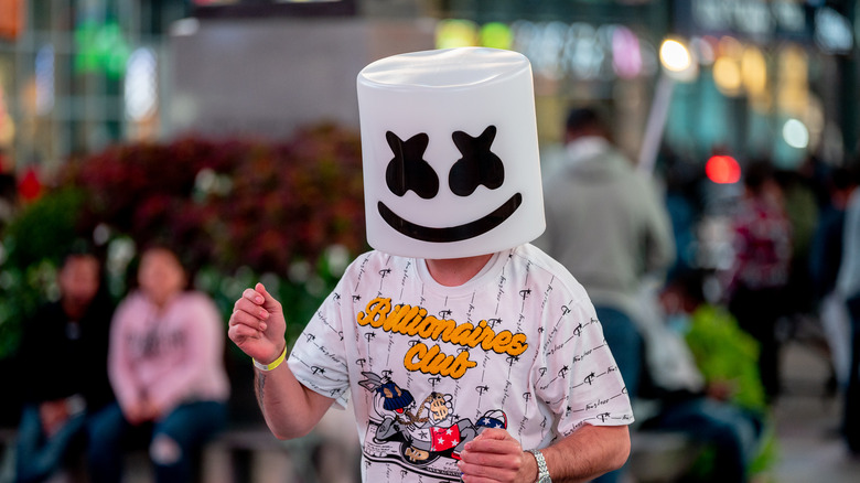 DJ Marshmello at an event