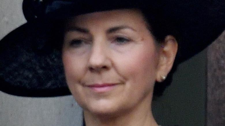 Susan Rhodes Prince Phillip's funeral