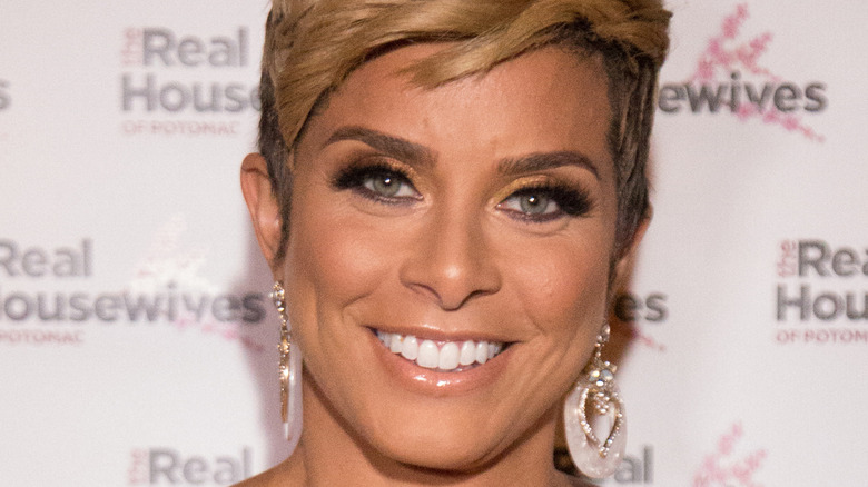Robyn Dixon on the red carpet