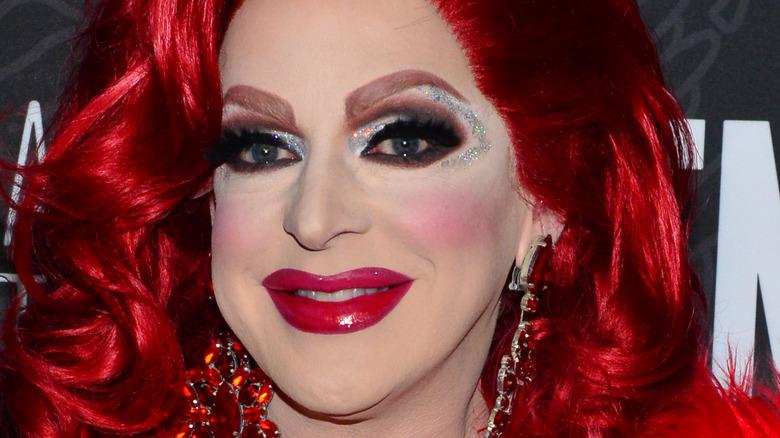 Pandora Boxx in red wig