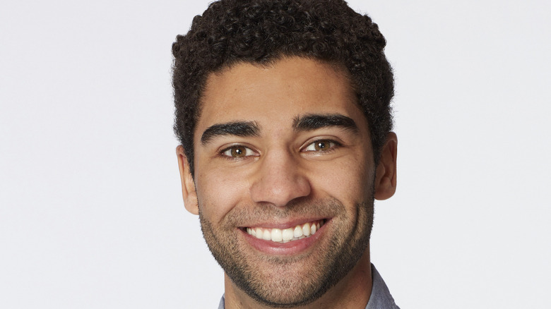 Marcus Lathan close up from Season 17 of the Bachelorette