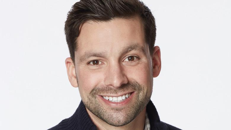 Bachelorette contestant Michael Allio smiling