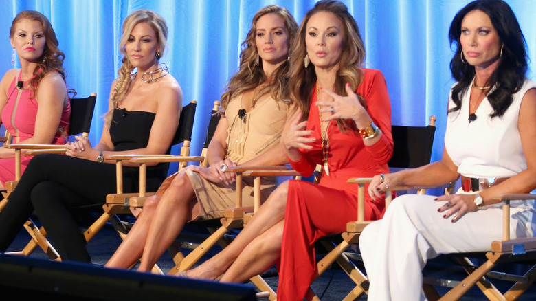 The 'Real Housewives of Dallas' cast on stage