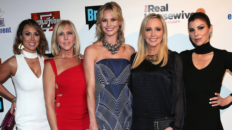 The Real Housewives of Orange County on a 2016 red carpet