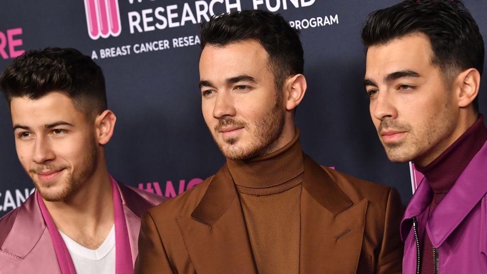The Jonas Brothers at event
