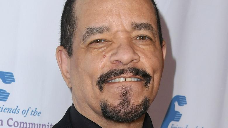 Ice-T smiling