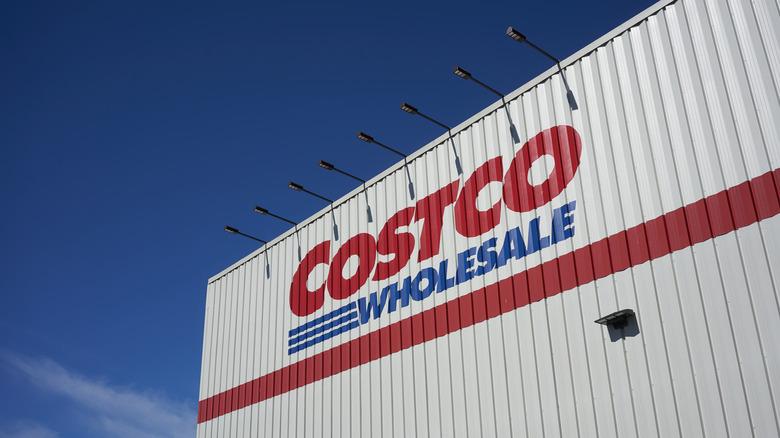 Costco wholesale store front