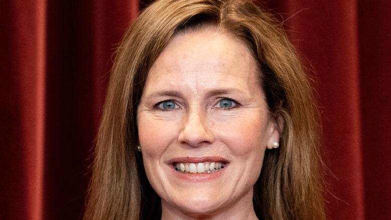 Amy Coney Barrett official Supreme Court photo