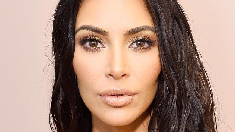 Kim Kardashian at an event
