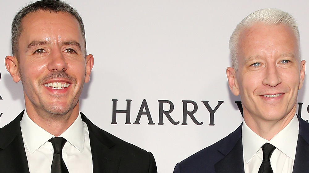 Anderson Cooper and his ex, Benjamin Maisani at event