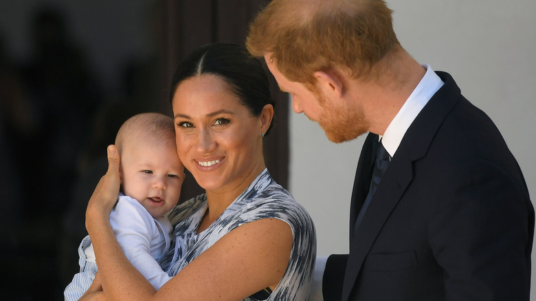 Baby Archie, Prince Harry and Meghan Markle