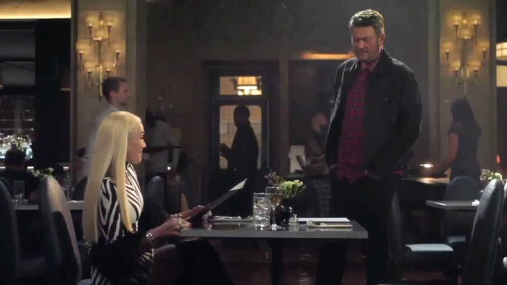 Gwen Stefani and Blake Shelton T-Mobile Super Bowl ad