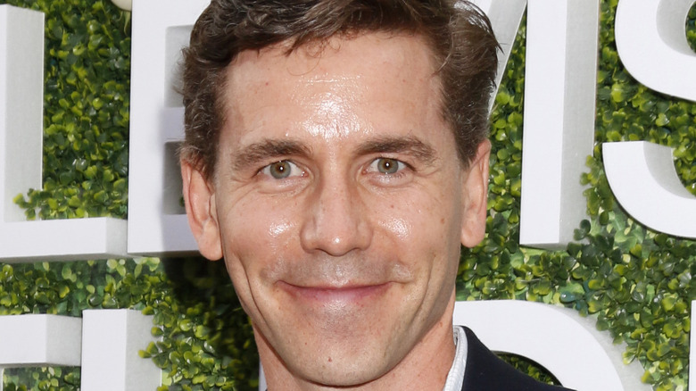 Actor Brian Dietzen poses at an event