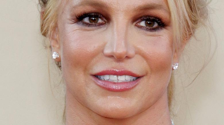 Britney Spears looking surprised