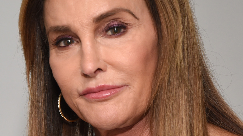 Caitlyn Jenner poses for the camera.